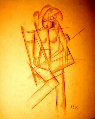 Александр Константинович Богомазов. Portrait of a Woman