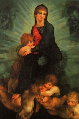 Россо Фьорентино. Богородица с младенцем