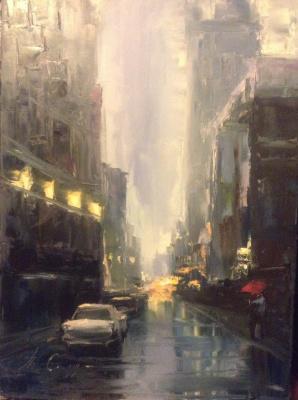 Tatyana Soldatkin. The city