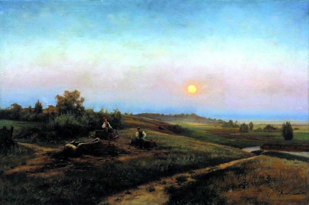 Joseph Evstafievich Krachkovsky. Ukrainian evening