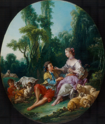 Francois Boucher. Are they thinking about the grape