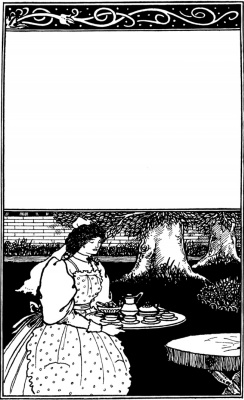 Aubrey Beardsley. British barbarians