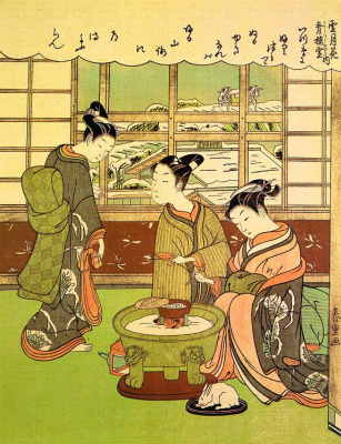Сузуки Харушиг. Японки 1