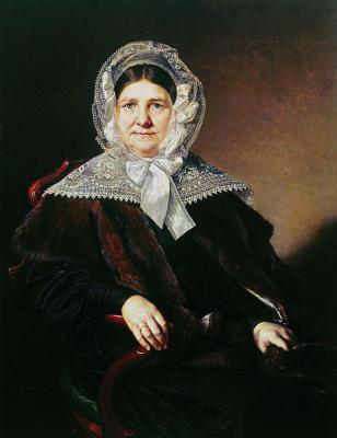 Портрет Анны Фёдоровны Мазуриной-Карзинкиной