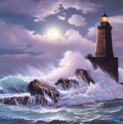 Anthony Kasei. Lighthouse 2
