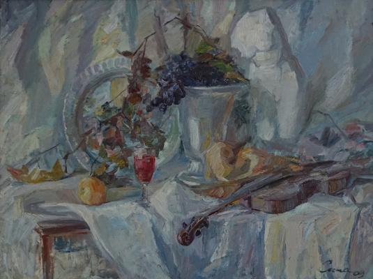 Valerij Ivanovich Sosna. Grapes And Violin