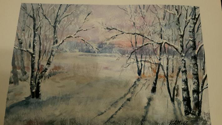 Victor Mikhaylenko. Winter in the Urals