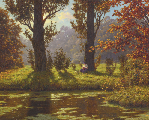 Ivan Fedorovich Schultze. Sunny day