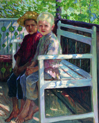 Nikolay Petrovich Bogdanov-Belsky. Children