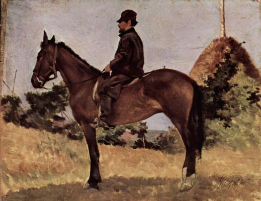 Giovanni Fattori. Riders