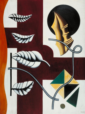 Fernand Leger. The leaves and shells