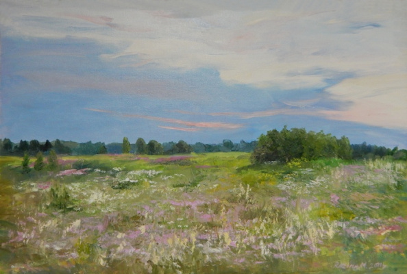 Marina Dmitrievna Razin. Flowering meadow