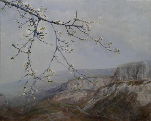 Гелена Павленко. Слива цветет