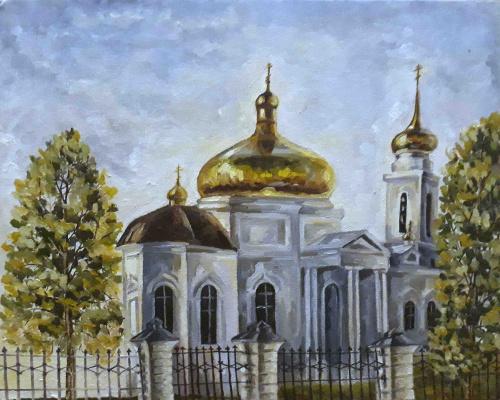 Margarita Vadimovna Pichugina. Church of the Apostles Peter and Paul