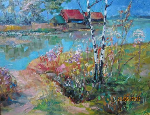 Valentin Nikolaevich Sudnitsyn. Rural lake