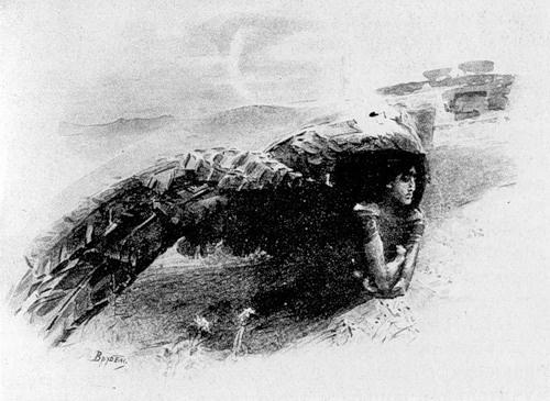 Михаил Александрович Врубель. Демон летящий