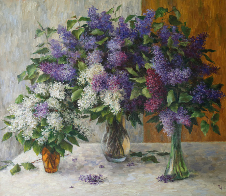 Tatyana Chepkasova. Lilac
