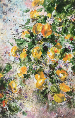 Диана Владимировна Маливани. Bloomy Lemon Tree