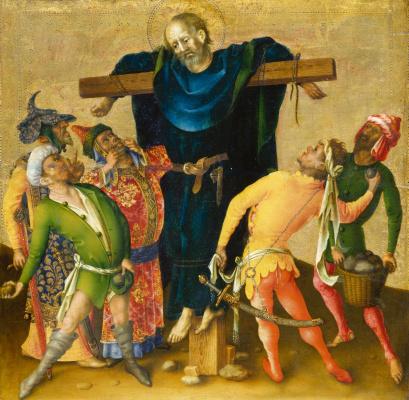 Stefan Lochner. The Martyrdom of St. Philip.