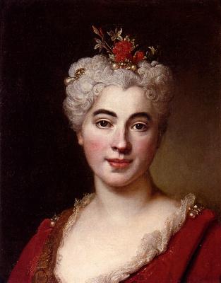 Никола де Ларджильер. Женщина