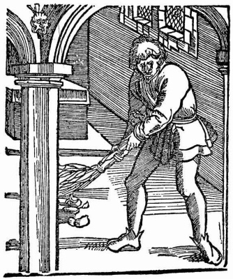Hans Baldung. Cleaning