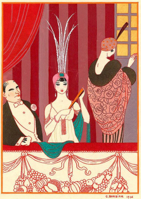 Georges Barbier. Lodge