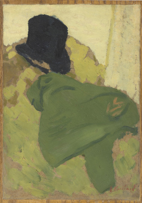 Jean Edouard Vuillard. Still life with hat