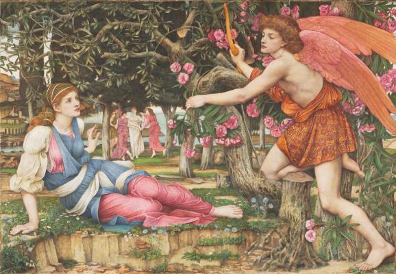 John Roddem Spencer-Stanhope. Love and the Maiden