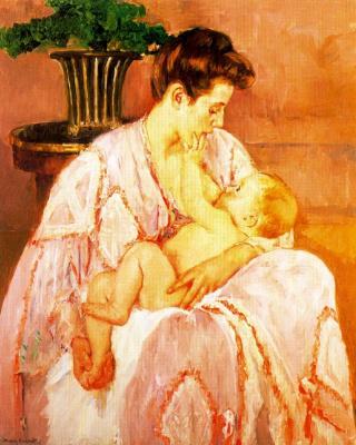 Мэри Кассат. Материнство