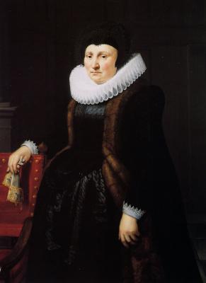 Ян ван Равестейн. Неизвестная женщина