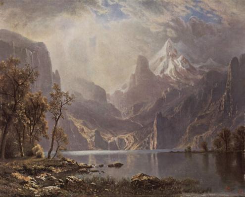 Альберт Бирштадт. Озеро Тахо
