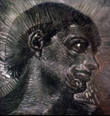 Сальвадор Дали. Голова, подсказанная Микеланджело