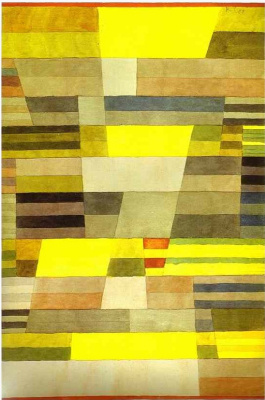 Paul Klee. Monument in fertile country