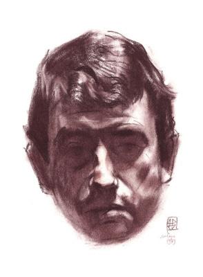 Gennady Dmitrievich Novozhilov. Self-portrait