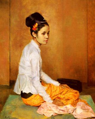 Джеральд Келли. Бирманский жемчуг