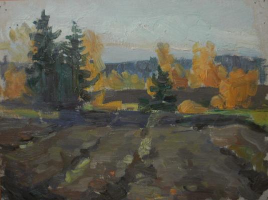 Nina Vasilievna Sedova. Autumn Etude