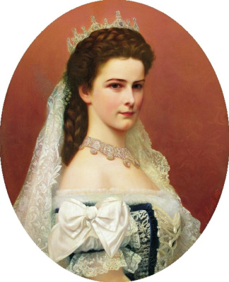 Georg Martin Ignaz Raab. Empress Elizabeth of Austria, Princess of Hungary