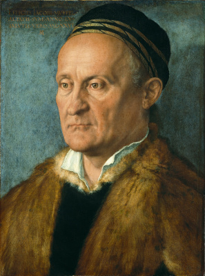 Albrecht Durer. Portrait Of Jacob Muffel