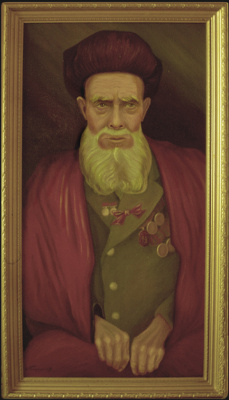 Vladimir Pavlovich Parkin. An old Uzbek war veteran.