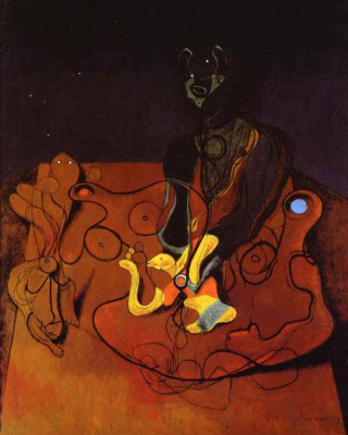Max Ernst. Night of love