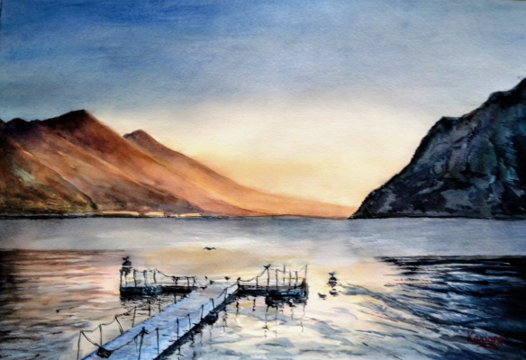 Karine Andriasyan. Garda Winter Tranquility