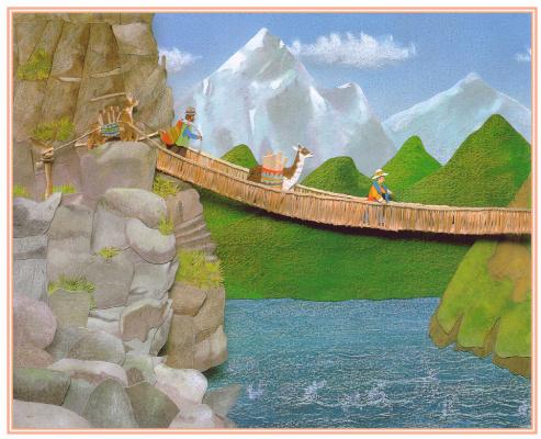 Джайлс Ларош. Пересечение моста