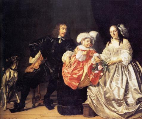 Бартоломеус ван дер Гельст. Семья