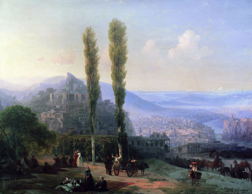 Ivan Aivazovsky. View Of Tiflis