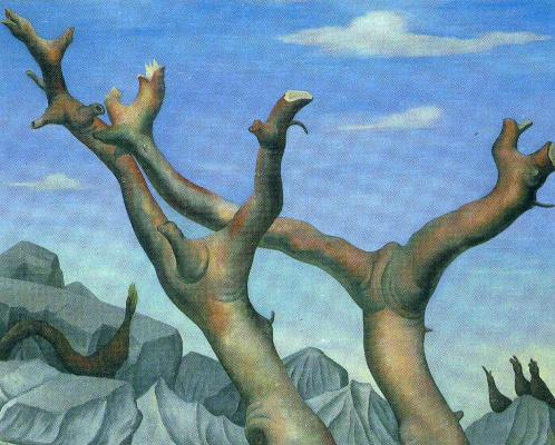 Diego Maria Rivera. Trees