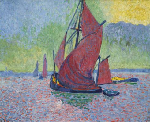 Andre Derain. Red sails