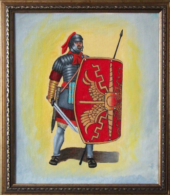 Victor Petrovich Burmin. Roman legionary