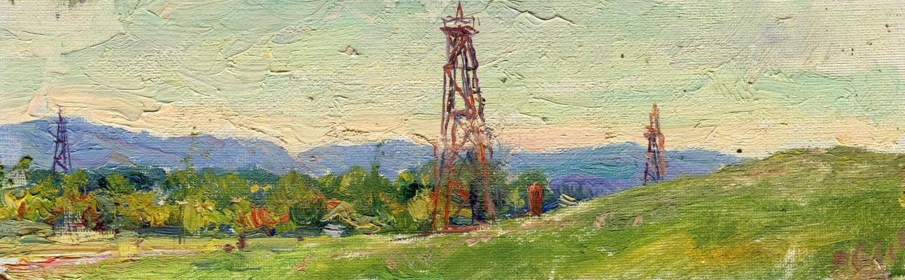 "Vasily Fadeevich Demin. Etude ""Tower"""