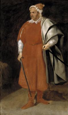 """Diego Velazquez. Jester, nicknamed """"Barbarossa"""""""