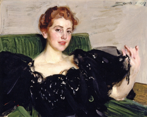 Anders Zorn. Mrs. Lucy Turner Troy